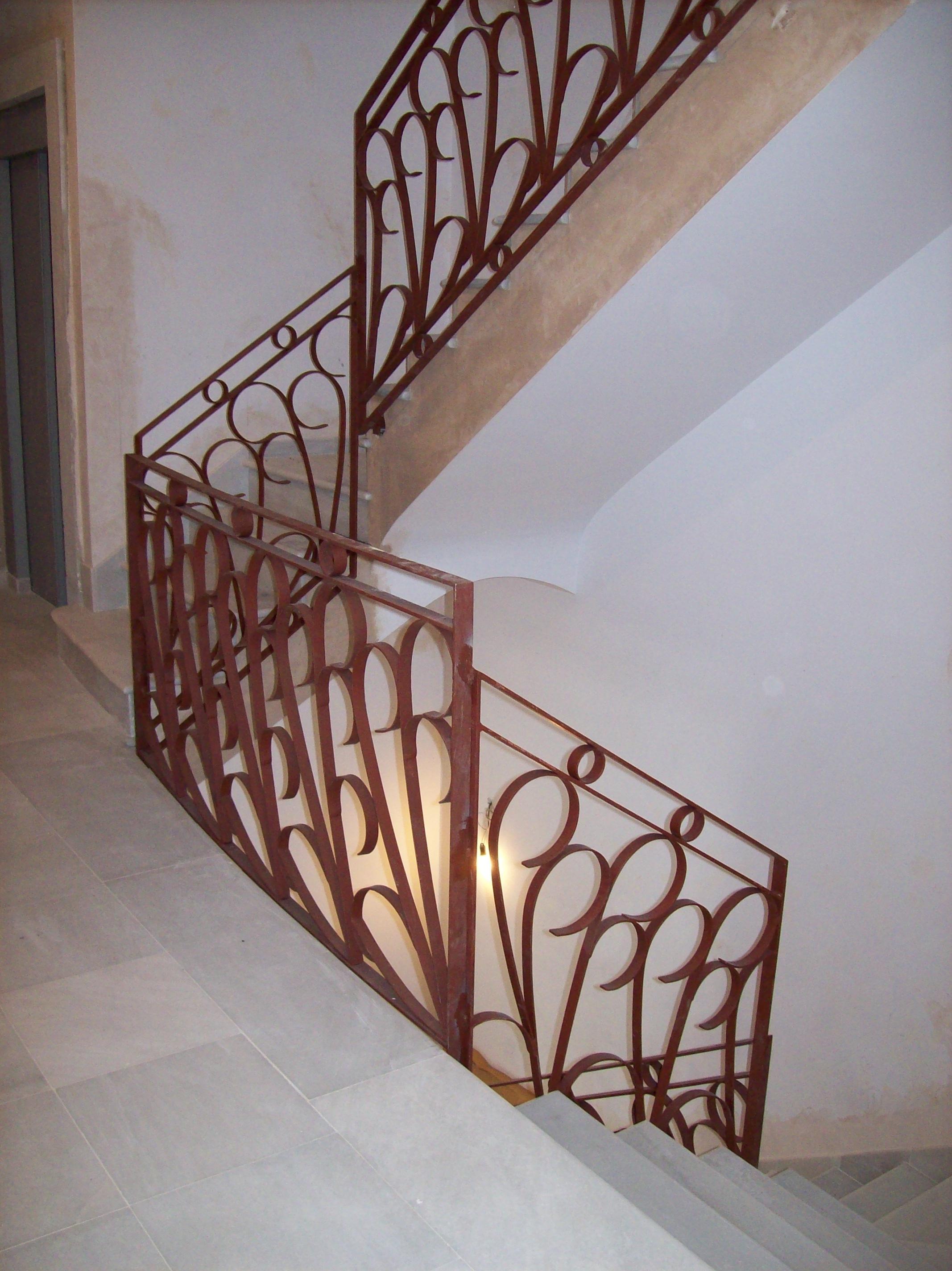 Escaleras y Barandillas de Escaleras